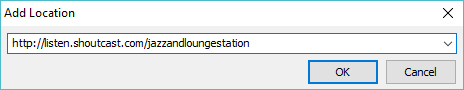how to add internet radio station to vcl